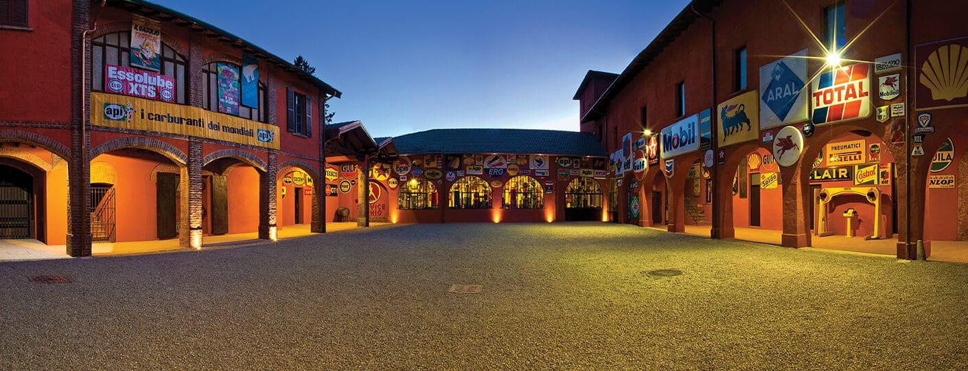 Museo Fisogni - Cortile completamente restaurato