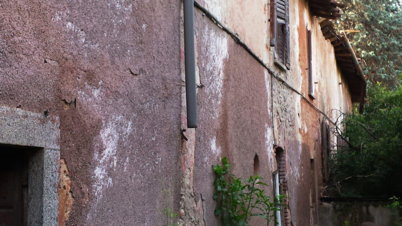 I lavori di restauro del Museo Fisogni - Facciata
