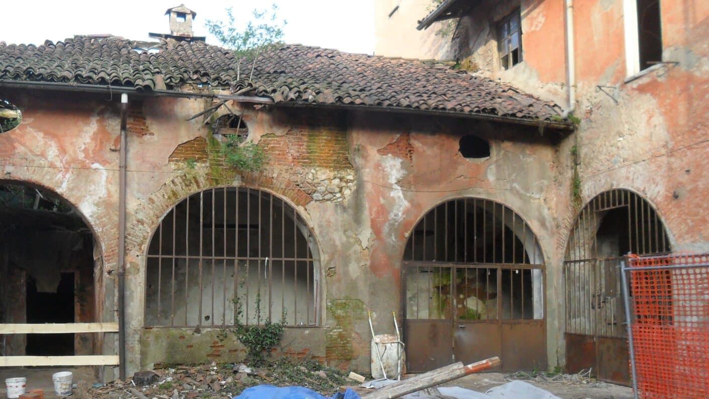 I lavori di restauro del Museo Fisogni - Rimozione macerie Museo