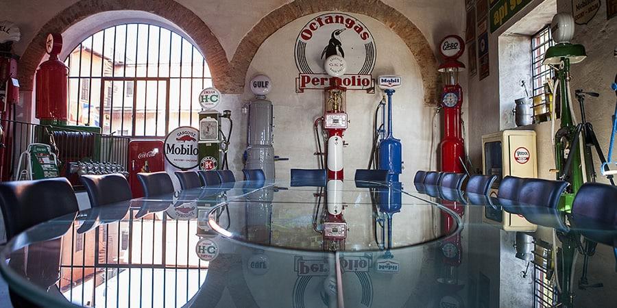 Tavolo per riunioni, Museo Fisogni