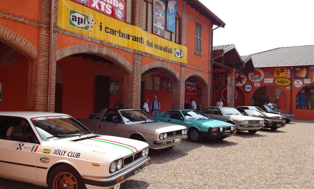 Raduno auto d'epoca Museo Fisogni